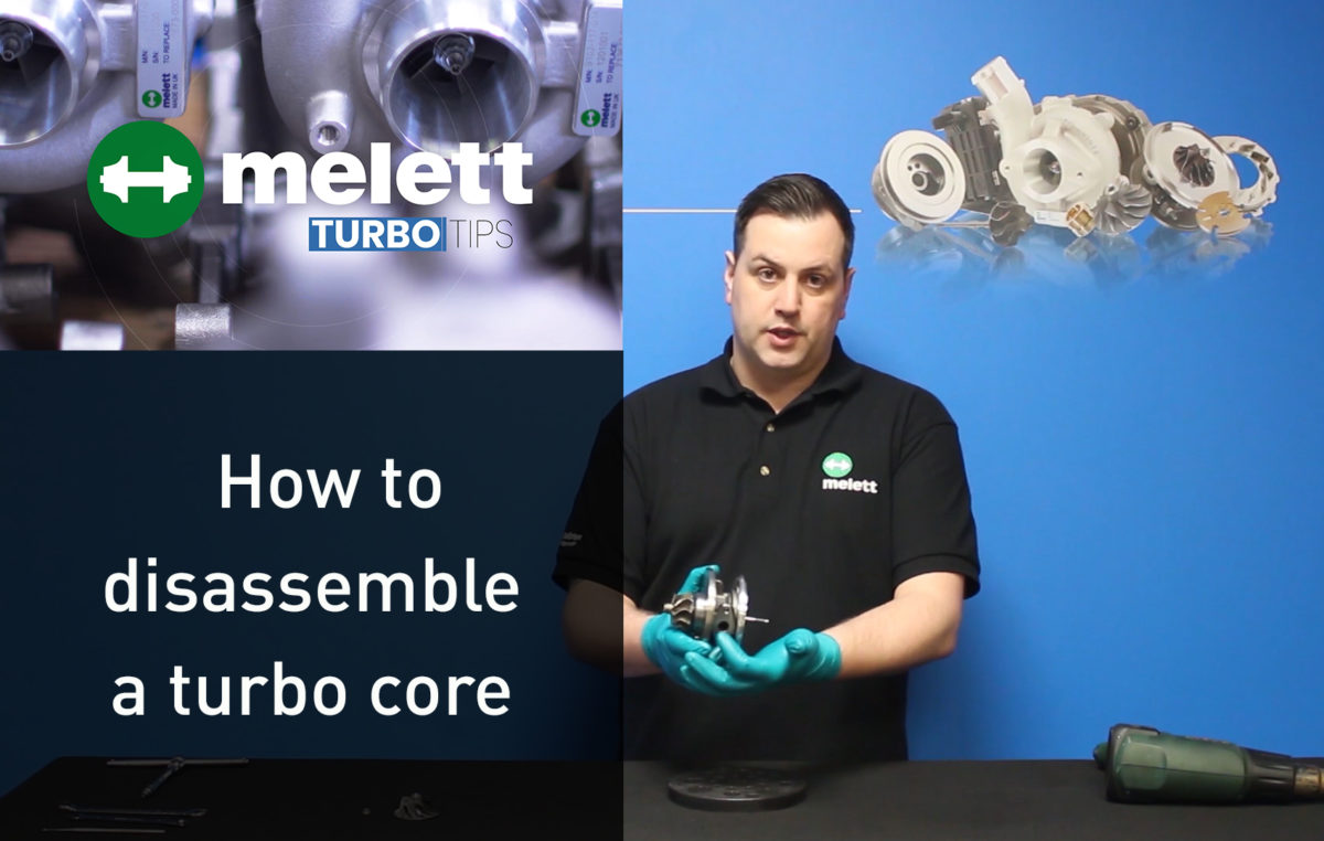 How to disassemble a CHRA / Core Assembly
