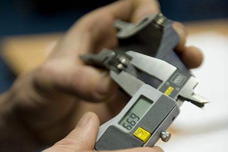 caliper measurement remnaufacturing