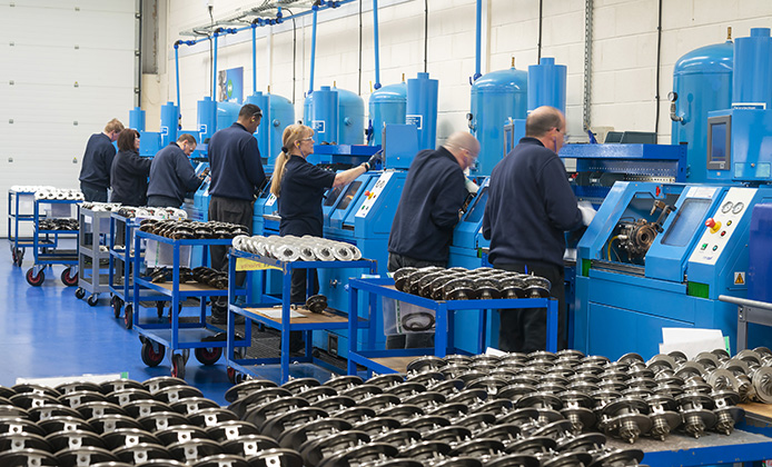 Melett Core production - UK