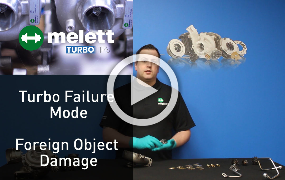 How does Foreign Object Damage cause turbocharger failure? ?