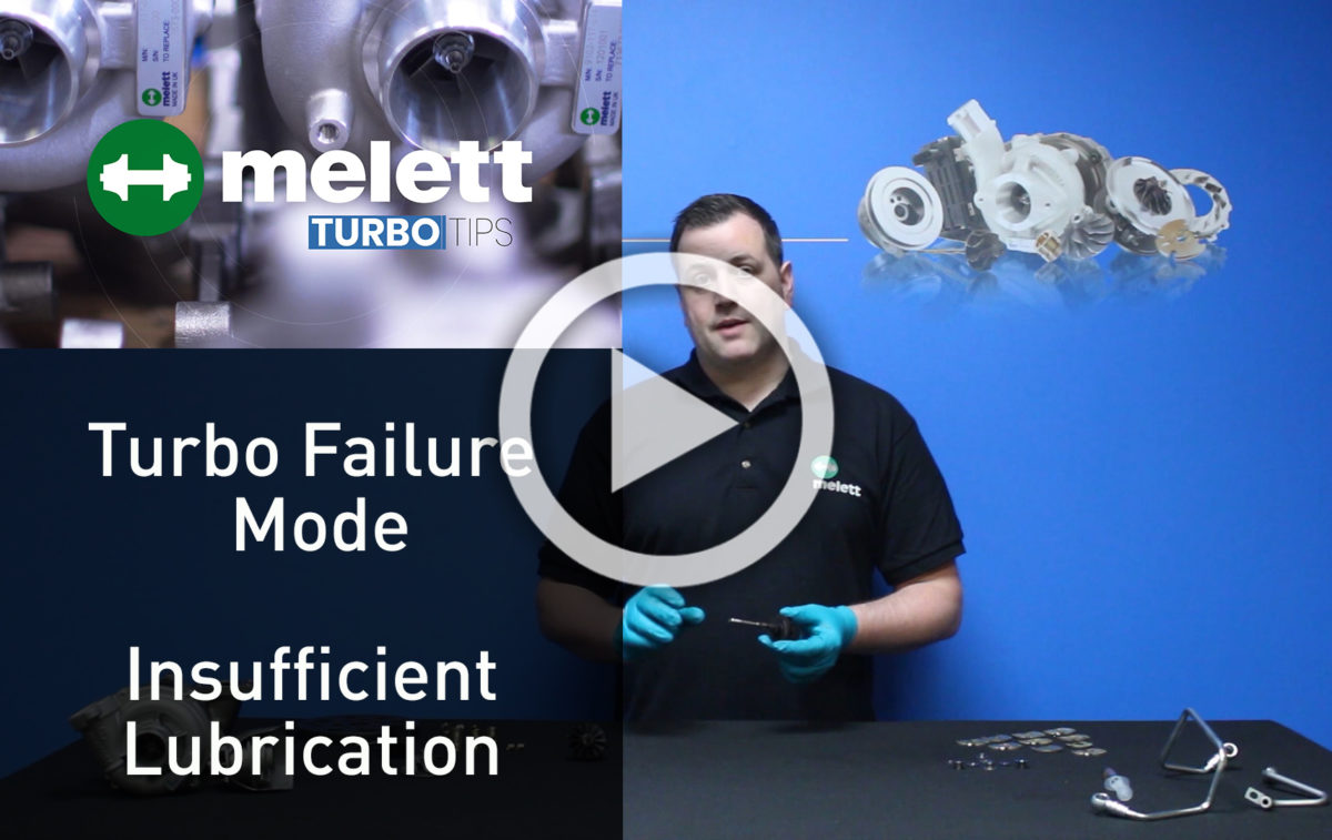 How does Insufficient Lubrication cause turbocharger failure? ?